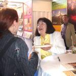 Hana Whitton při své autogramiádě