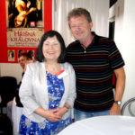 Hana Whitton a Karel Cubeca na veletrhu Svět knihy 2013