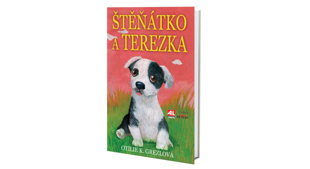 Kniha Štěňátko a Terezka