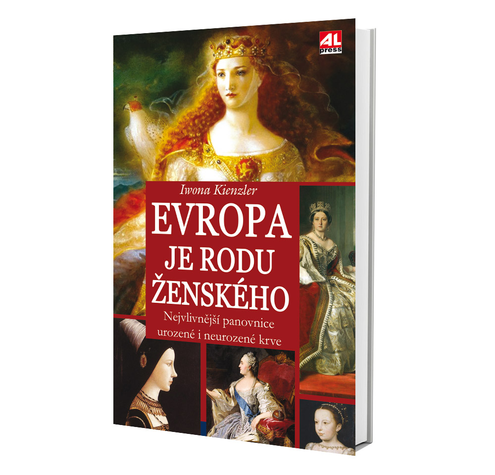 Kniha Evropa je rodu ženského v našem nakladatelství Alpress