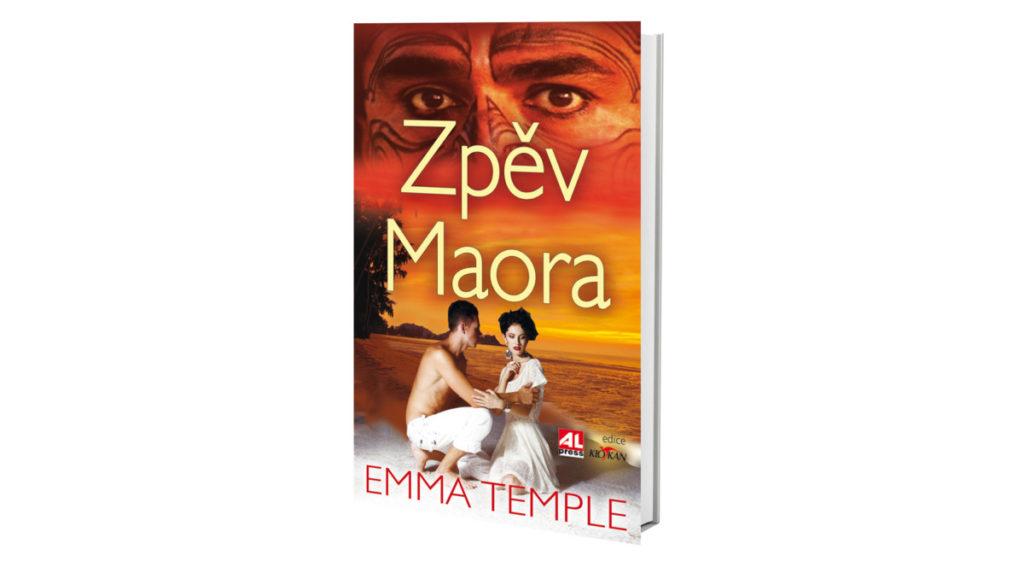 Kniha Zpěv Maora v našem nakladatelství Alpress