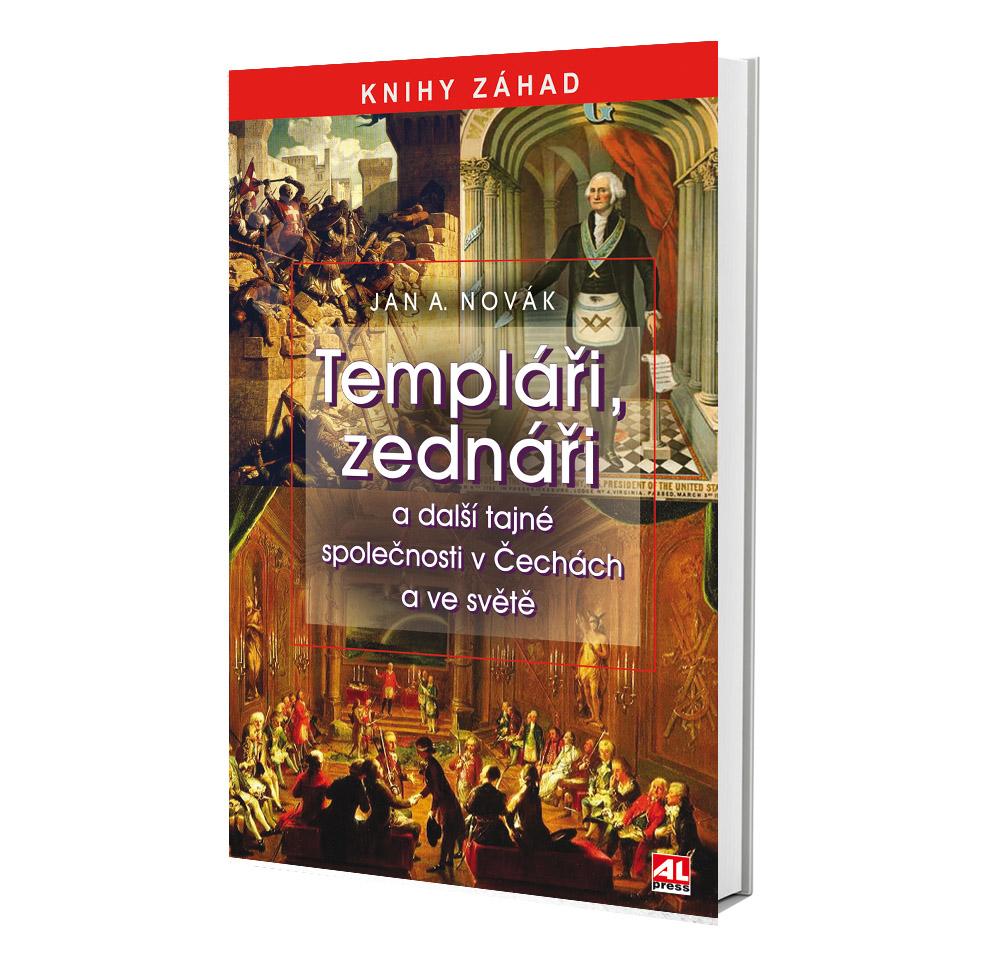 Kniha Templáři, zednáři v našem nakladatelství Alpress