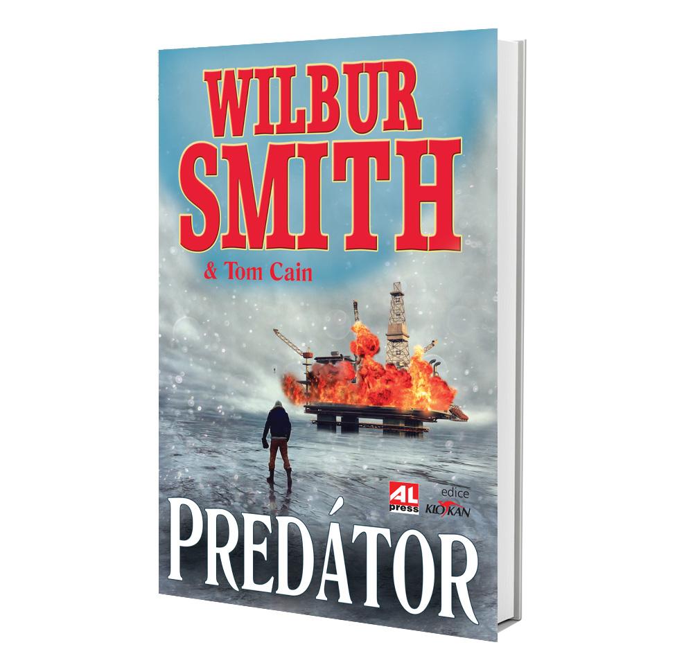 Kniha Predátor v našem nakladatelství Alpress