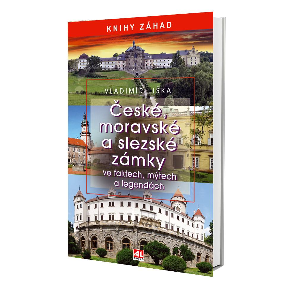 Kniha České, moravské a slezské zámky ve faktech, mýtech a legendách v našem nakladatelství Alpress