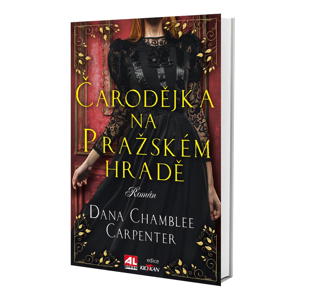 Kniha Čarodějka na pražském hradě v našem nakladatelství Alpress