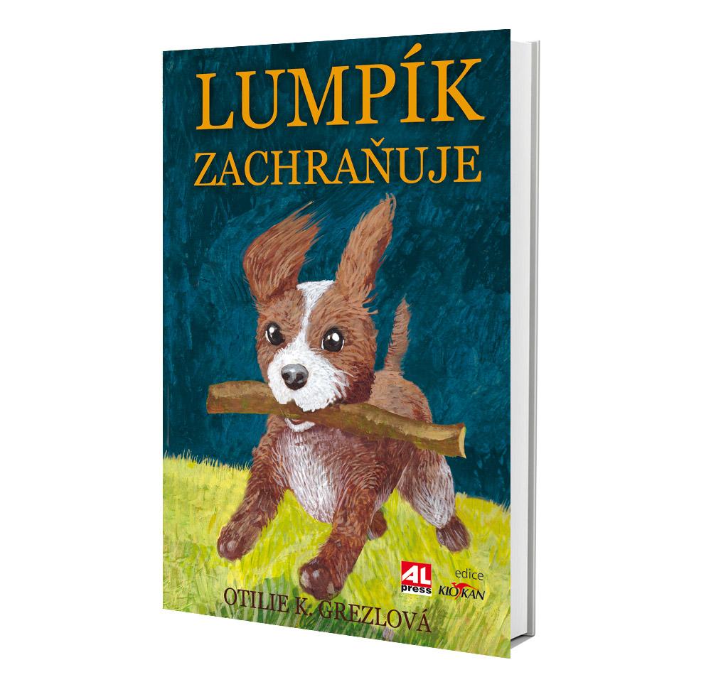 Kniha Lumpík zachraňuje v našem nakladatelství Alpress
