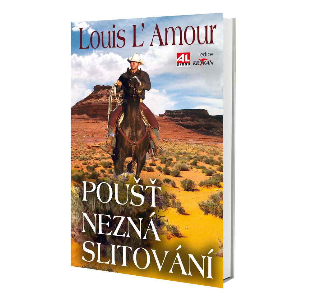 Kniha Poušť nezná slitování v našem nakladatelství Alpress