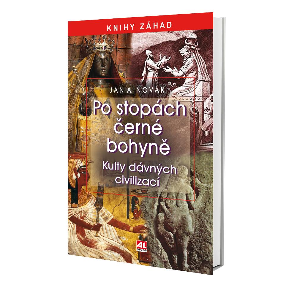 Kniha Po stopách černé bohyně v našem nakladatelství Alpress