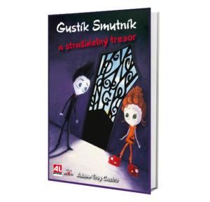 Kniha Gustík Smutník a strašidelný trezor v našem nakladatelství Alpress