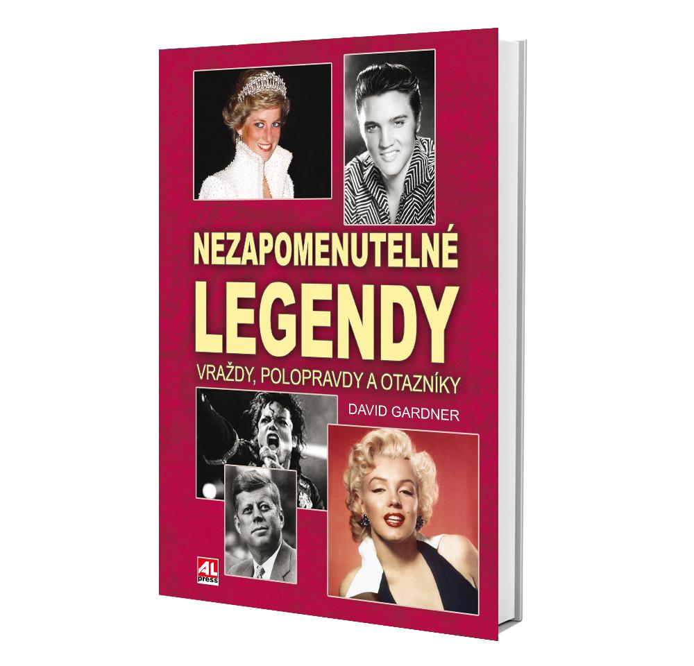 Kniha Nezapomenutelné legendy v našem nakladatelství Alpress
