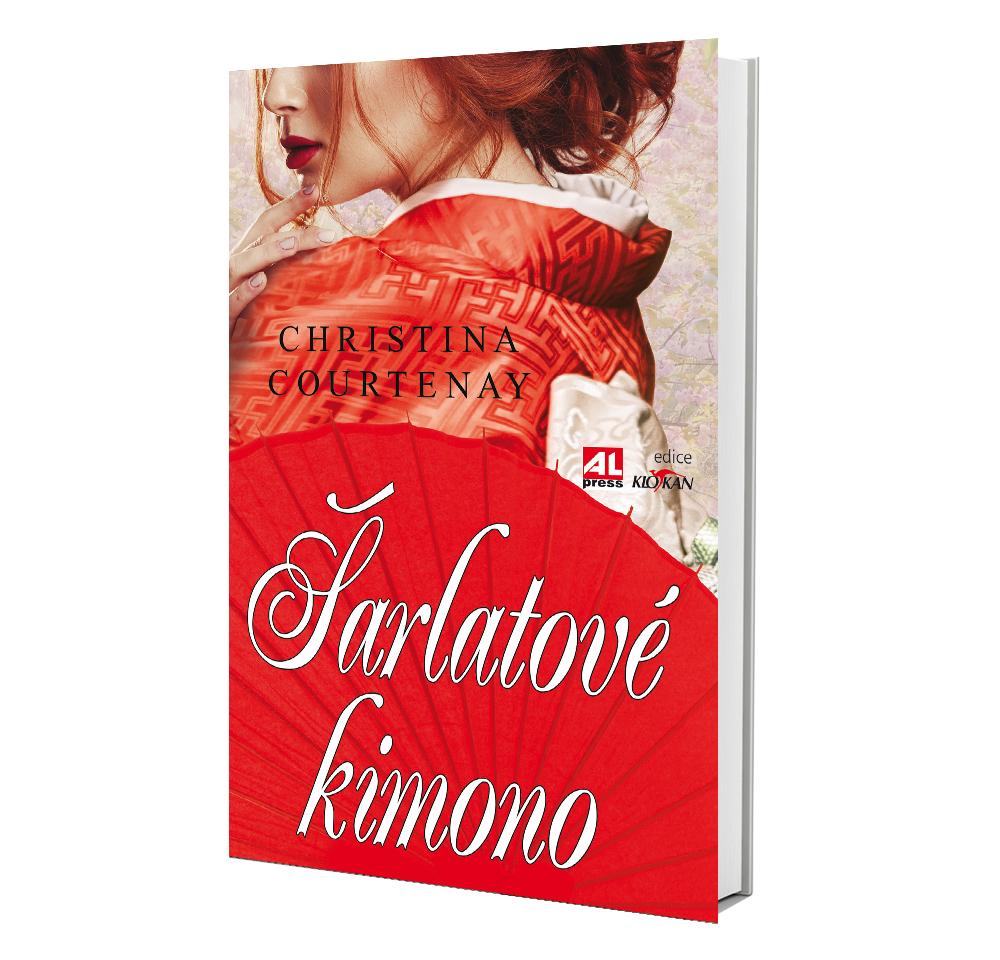 Kniha Šarlatové kimono v našem nakladatelství Alpress