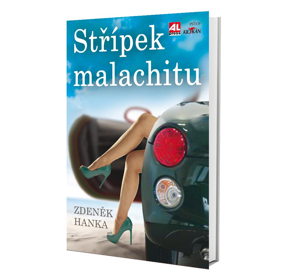 Kniha Střípek malachitu v našem nakladatelství Alpress