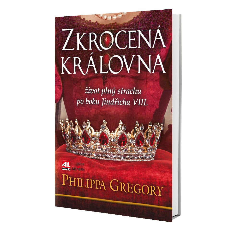 Kniha Zkrocená královna v našem nakladatelství Alpress