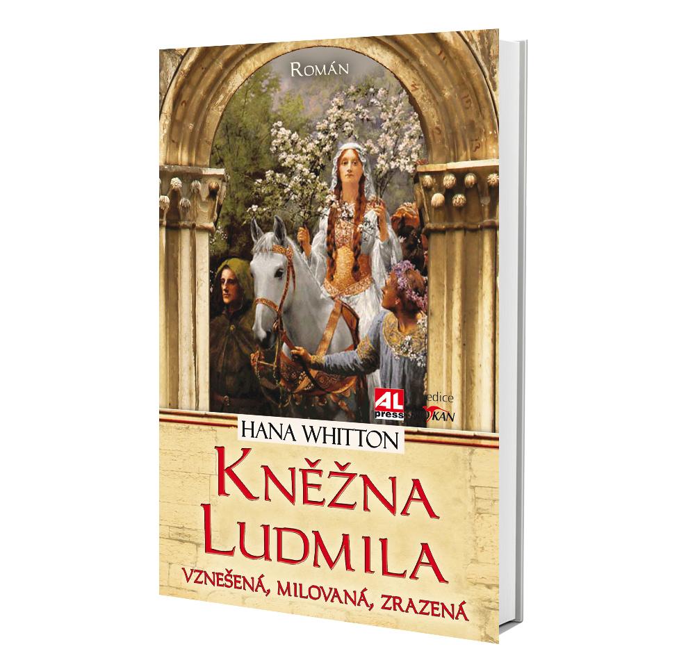 Kniha Kněžna Ludmila v našem nakladatelství Alpress