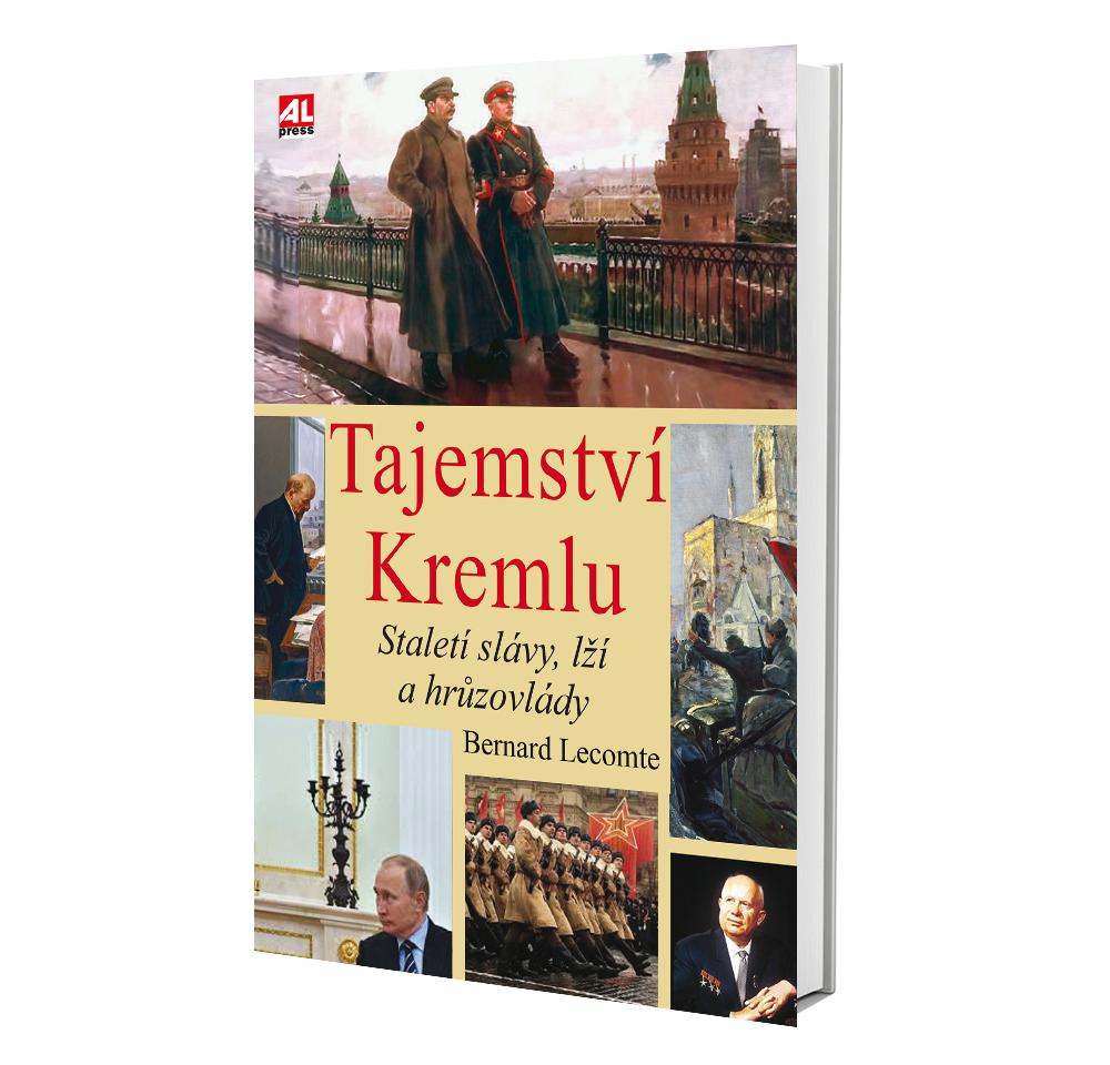 Kniha Tajemství Kremlu v našem nakladatelství Alpress