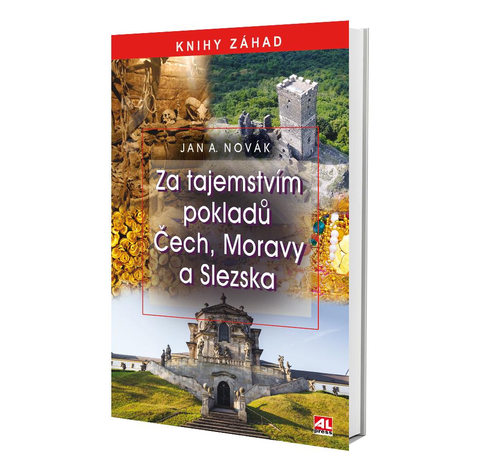 Kniha Za tajemstvím pokladů Čech, Moravy a Slezska v našem nakladatelství Alpress