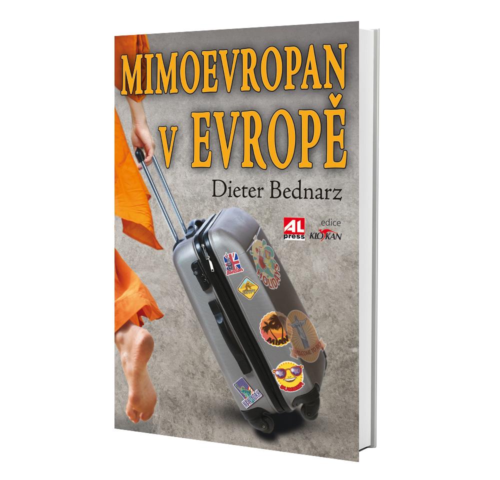 Kniha Mimoevropan v Evropě v našem nakladatelství Alpress