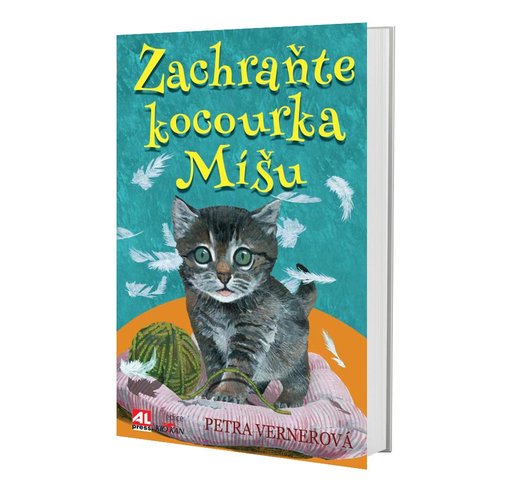 Kniha Zachraňte kocourka Míšu v našem nakladatelství Alpress