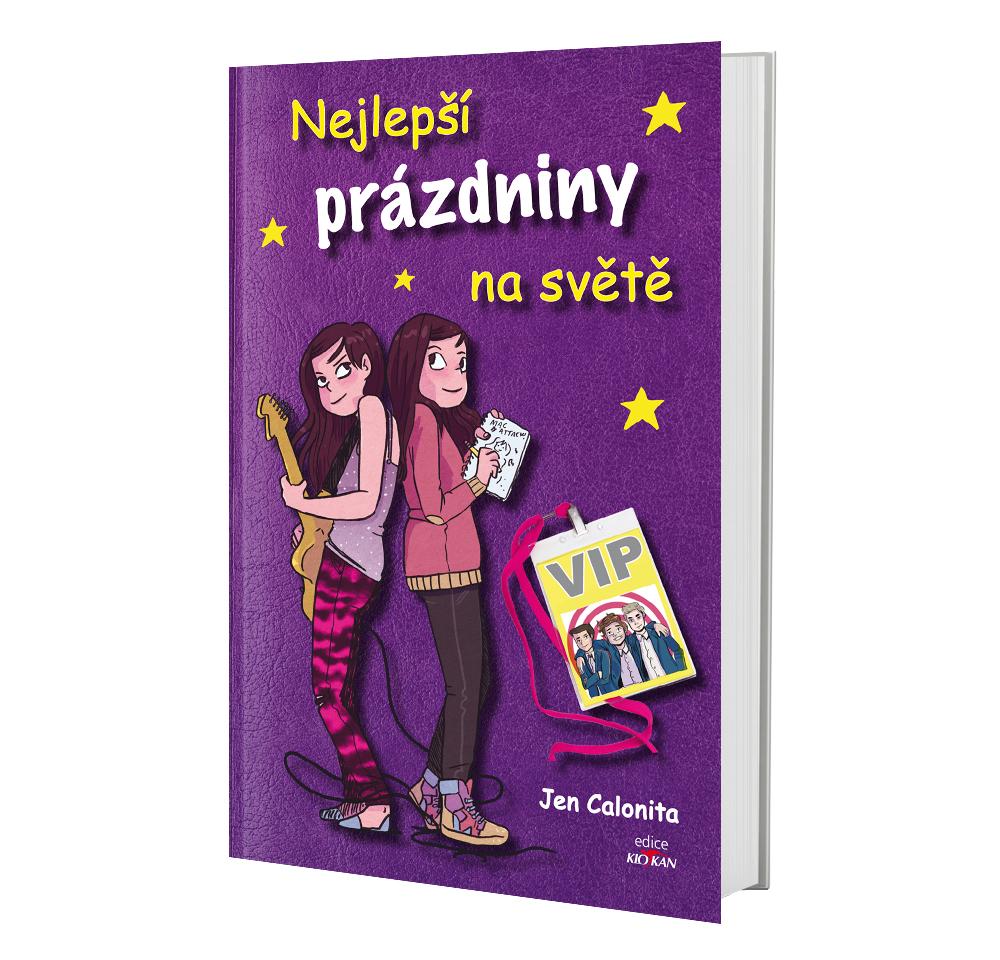 Kniha Nejlepší prázdniny na světě v našem nakladatelství Alpress