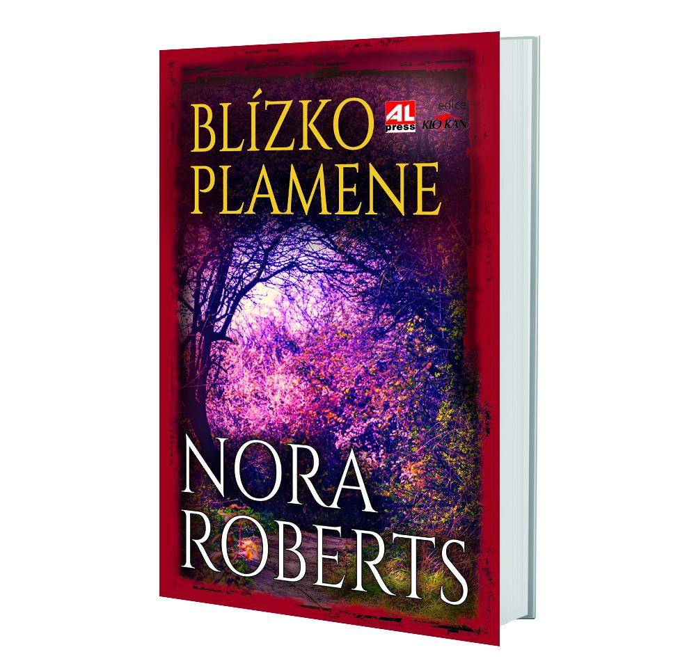 Kniha Blízko plamene v našem nakladatelství Alpress