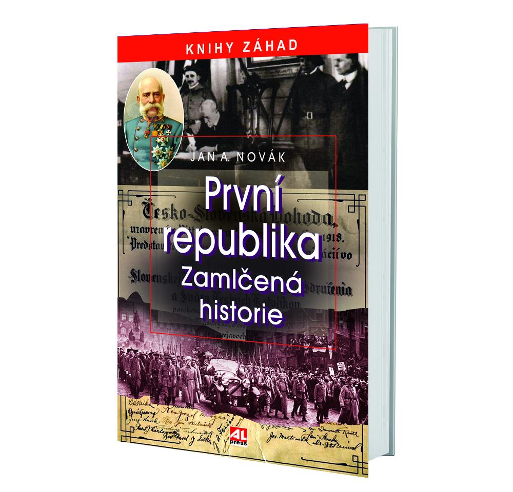 Kniha První republika v našem nakladatelství Alpress