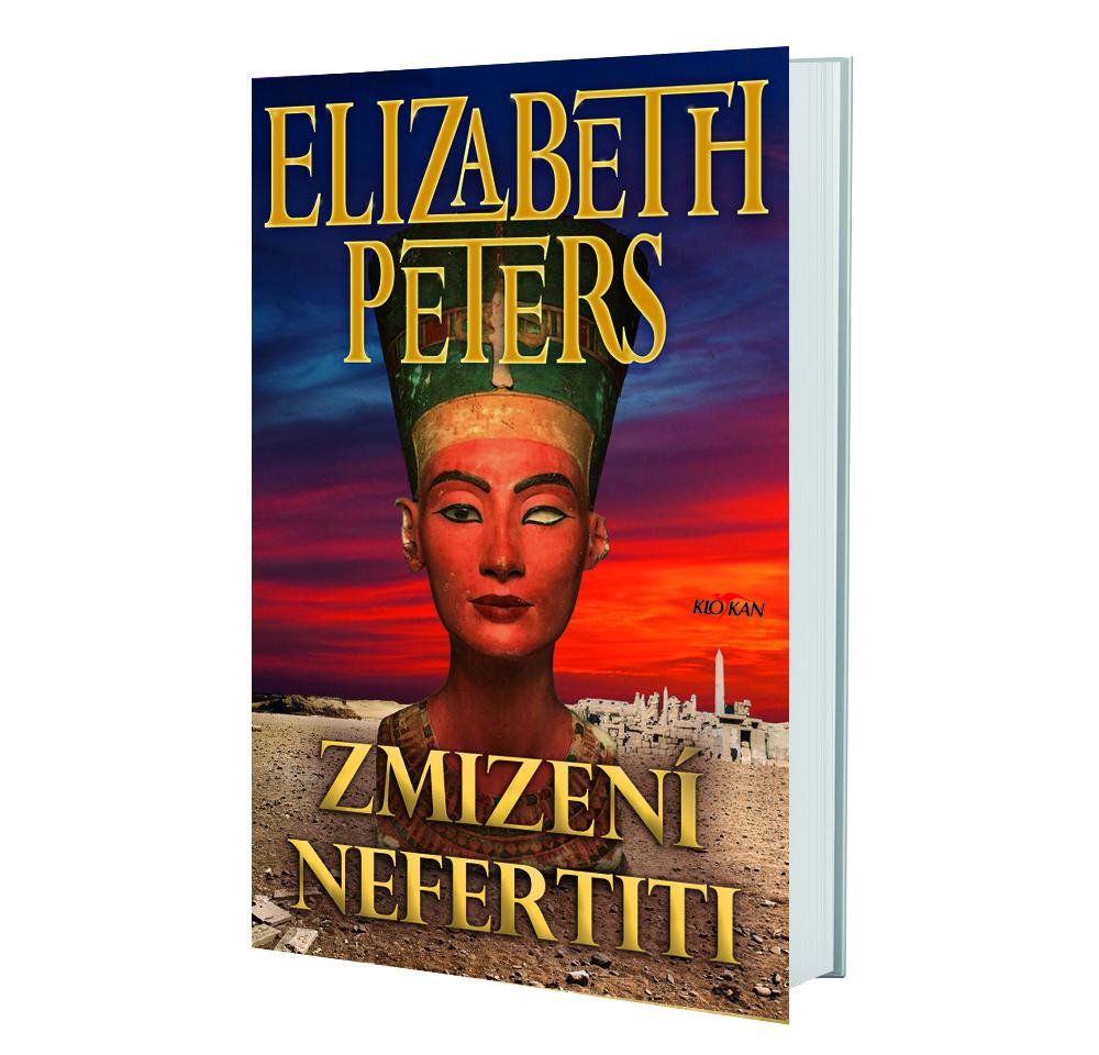 Kniha Zmizení Nefertiti v našem nakladatelství Alpress