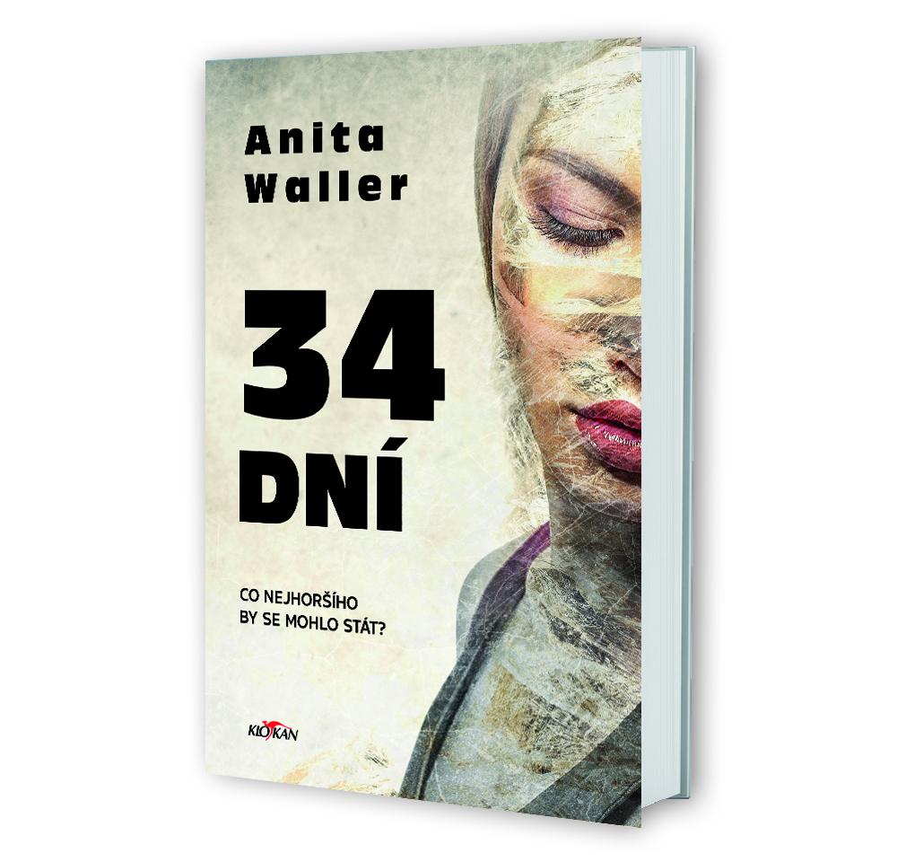 Kniha 34 dní v našem nakladatelství Alpress