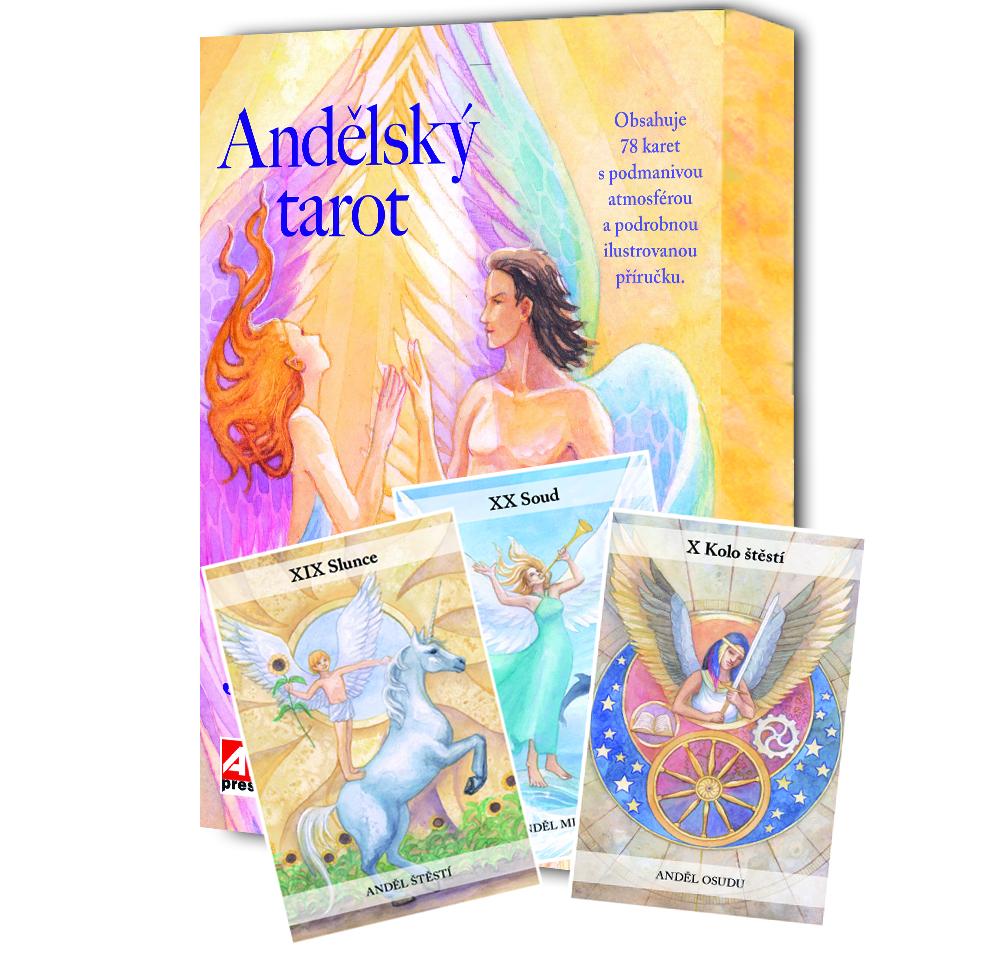 Andělský tarot v našem nakladatelství Alpress