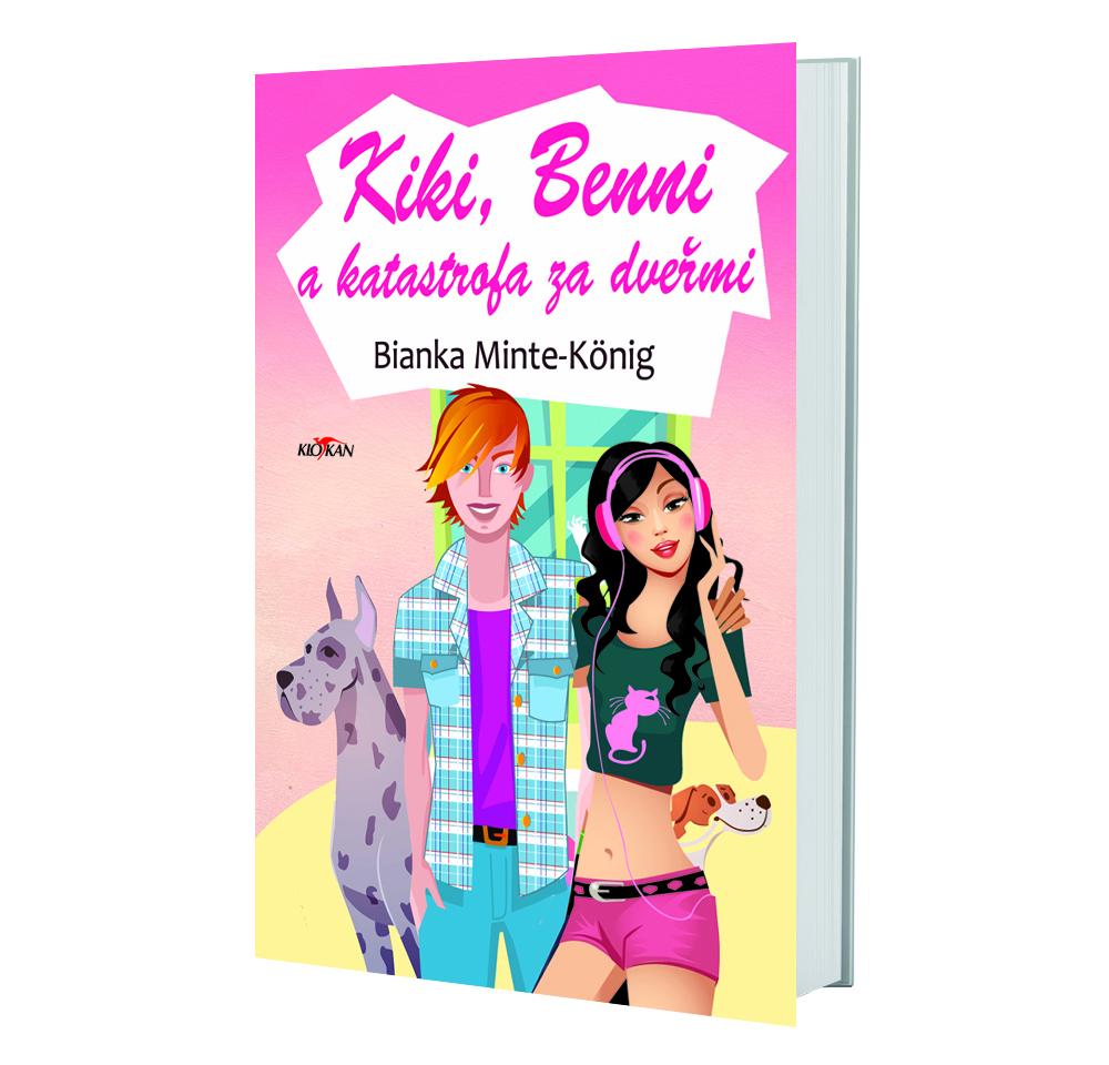 Kniha Kiki, Benni a katastrofa za dveřmi v našem nakladatelství Alpress