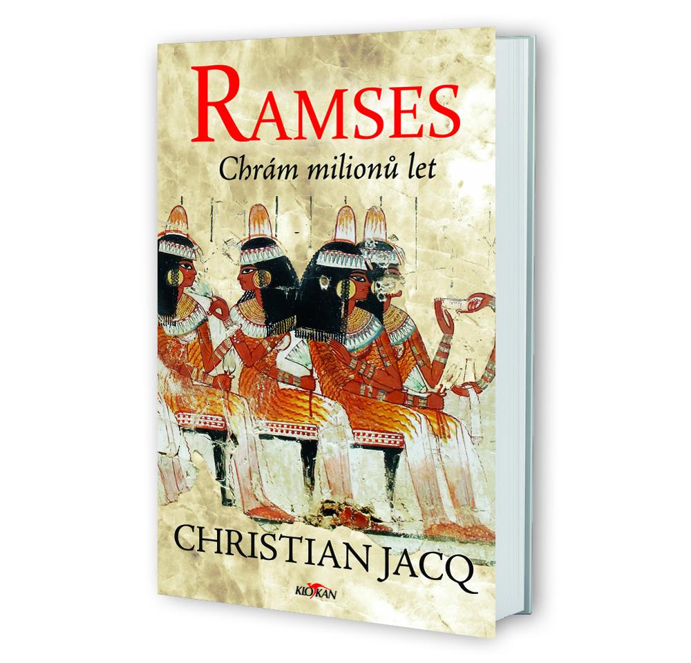 Kniha Ramses - Chrám milionů let v našem nakladatelství Alpress