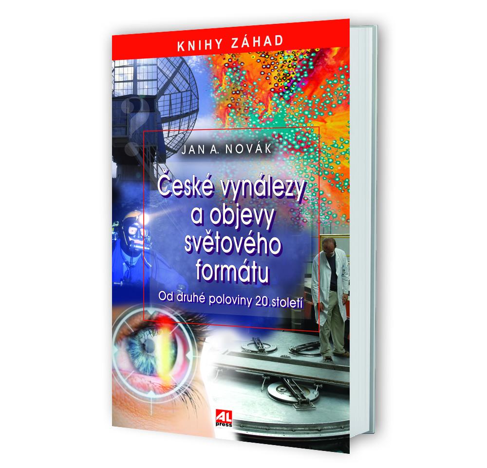 Kniha České vynálezy a objevy světového formátu v našem nakladatelství Alpress