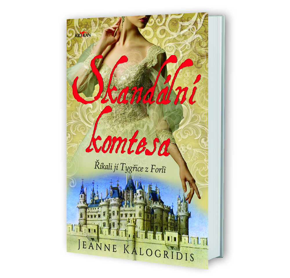 Kniha Skandální komtesa v našem nakladatelství Alpress