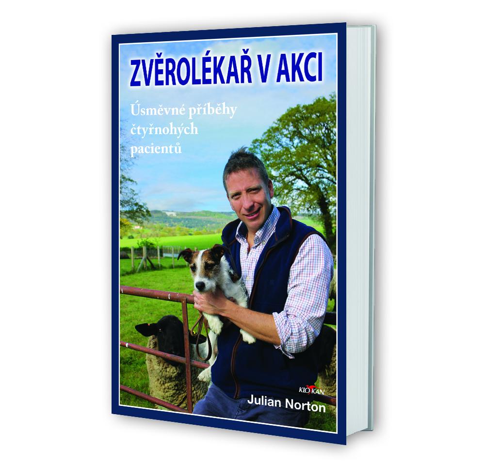 Kniha Zvěrolékař v akci v našem nakladatelství Alpress