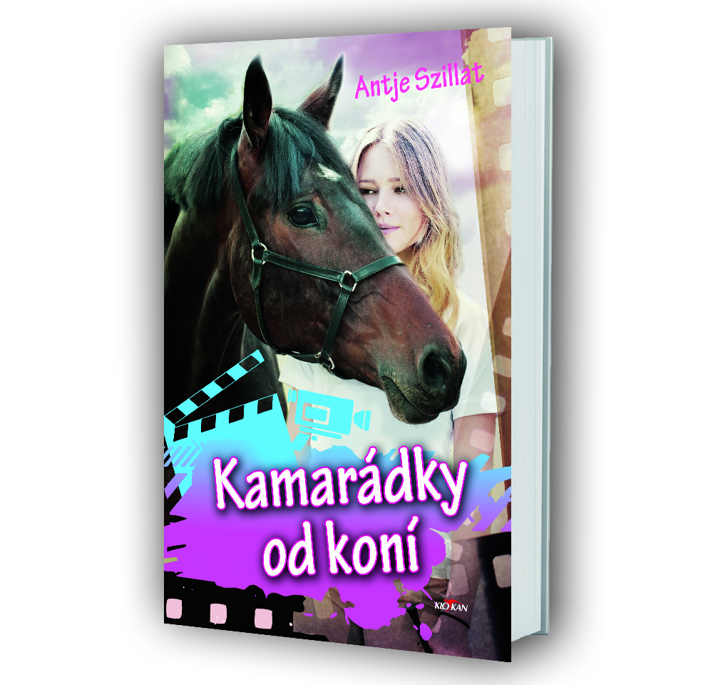 Kniha Kamarádky od koní v našem nakladatelství Alpress