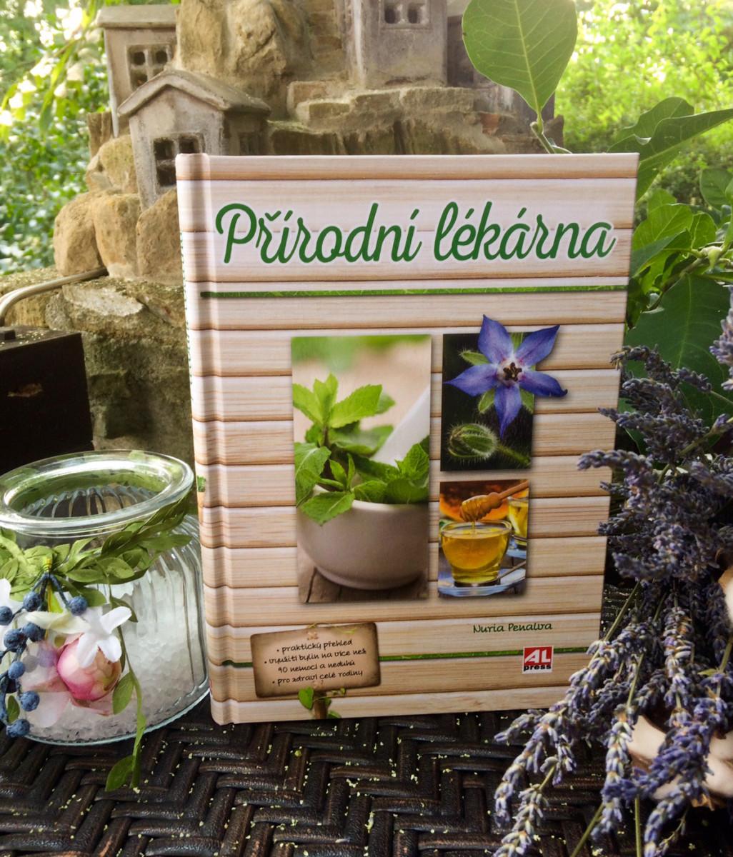 Kniha Přírodní lékárna v našem nakladatelství Alpress