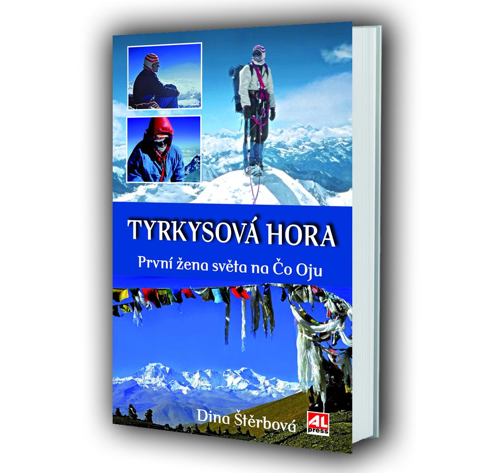 Kniha Tyrkysová hora v našem nakladatelství Alpress