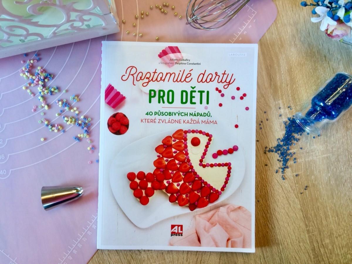 Kniha Roztomilé dorty pro děti v našem nakladatelství Alpress