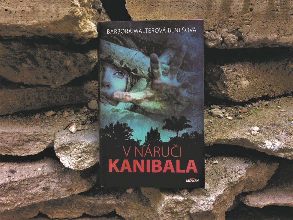 Kniha V náruči kanibala v našem nakladatelství Alpress