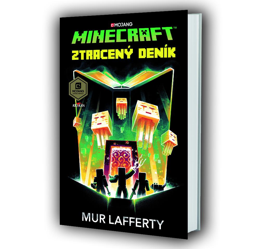 Kniha Minecraft – Ztracený deník v našem nakladatelství Alpress