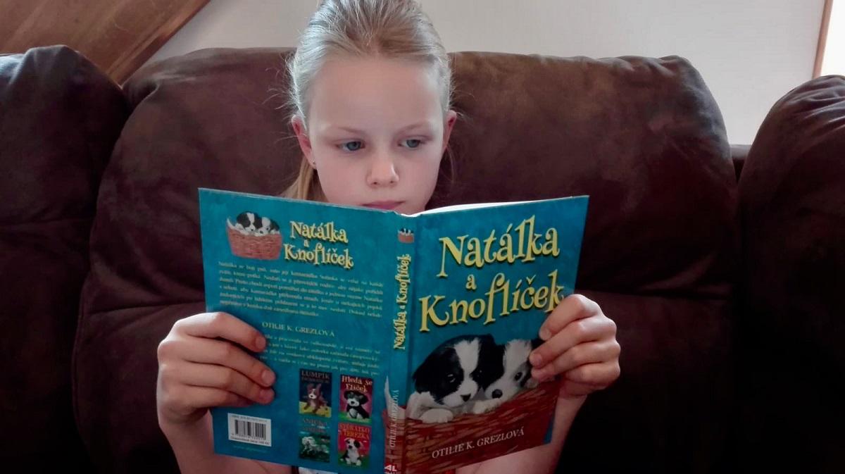 Kniha Natálka a Knoflíček v našem nakladatelství Alpress