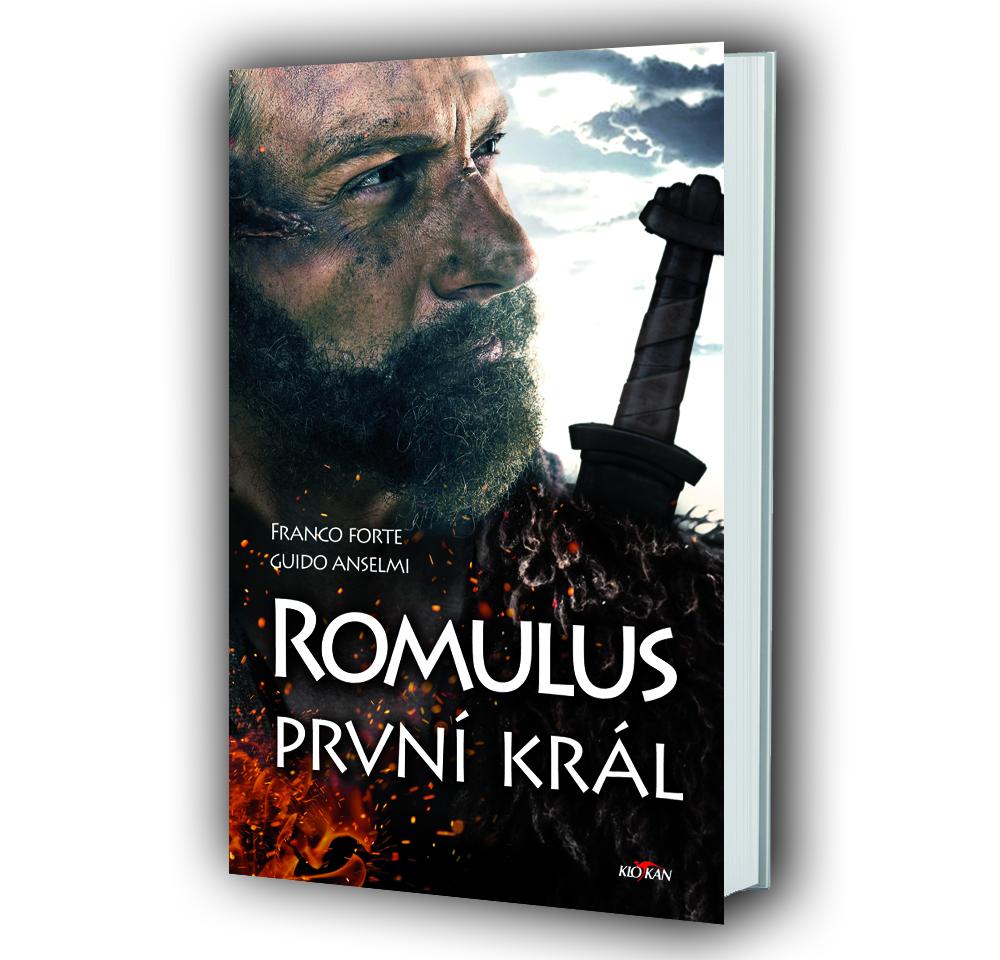Kniha Romulus – první král v našem nakladatelství Alpress