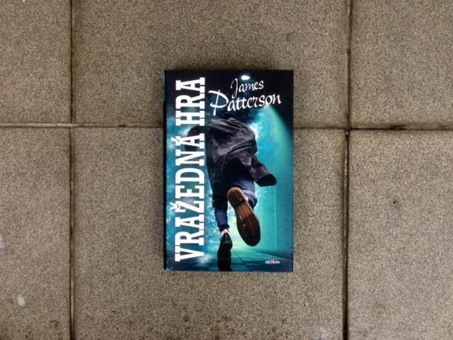Kniha Vražedná hra v našem nakladatelství Alpress