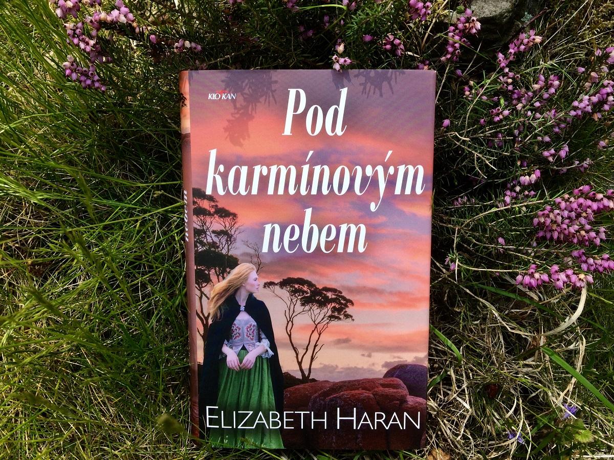 Kniha Pod karmínovým nebem v našem nakladatelství Alpress