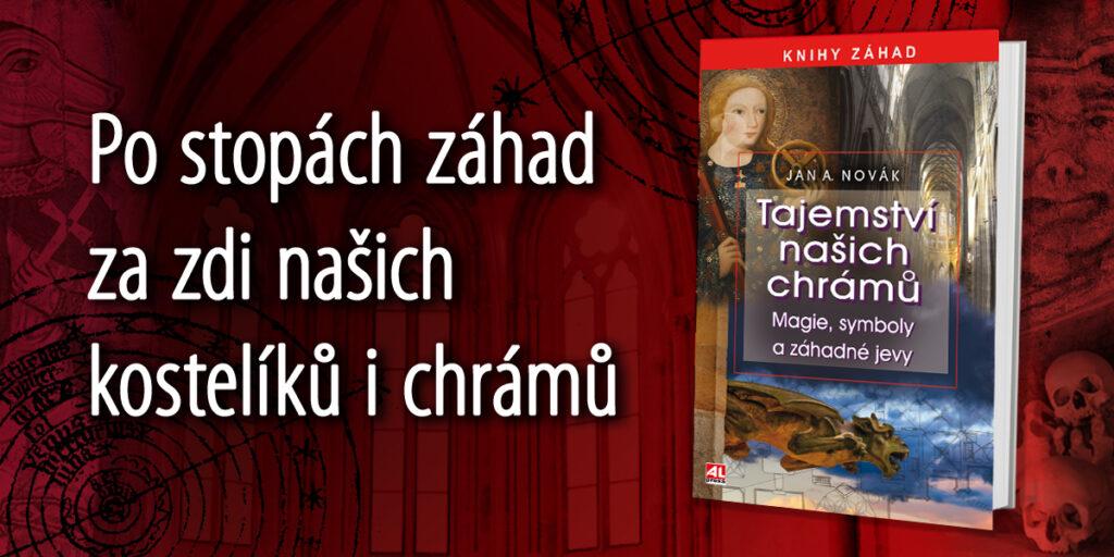 Kniha Tajemství našich chrámů v našem nakladatelství Alpress