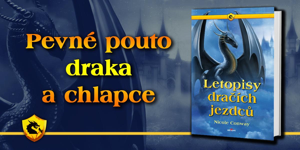 Kniha Letopisy dračích jezdců v našem nakladatelství Alpress