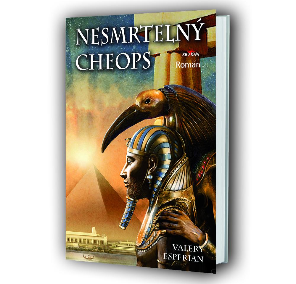 Kniha Nesmrtelný Cheops v našem nakladatelství Alpress