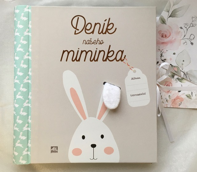 Kniha Deník našeho miminka v našem nakladatelství Alpress
