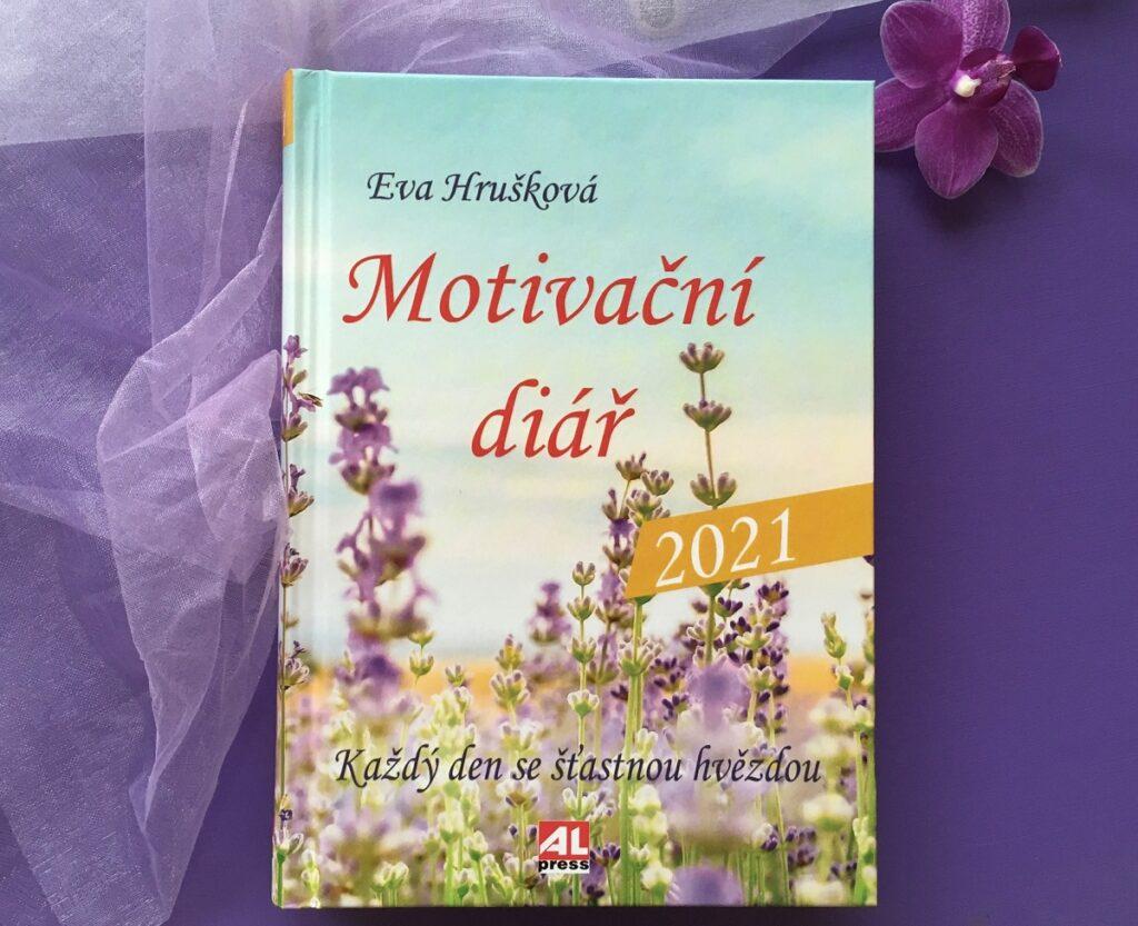 Kniha Motivační diář - 2021 v našem nakladatelství Alpress