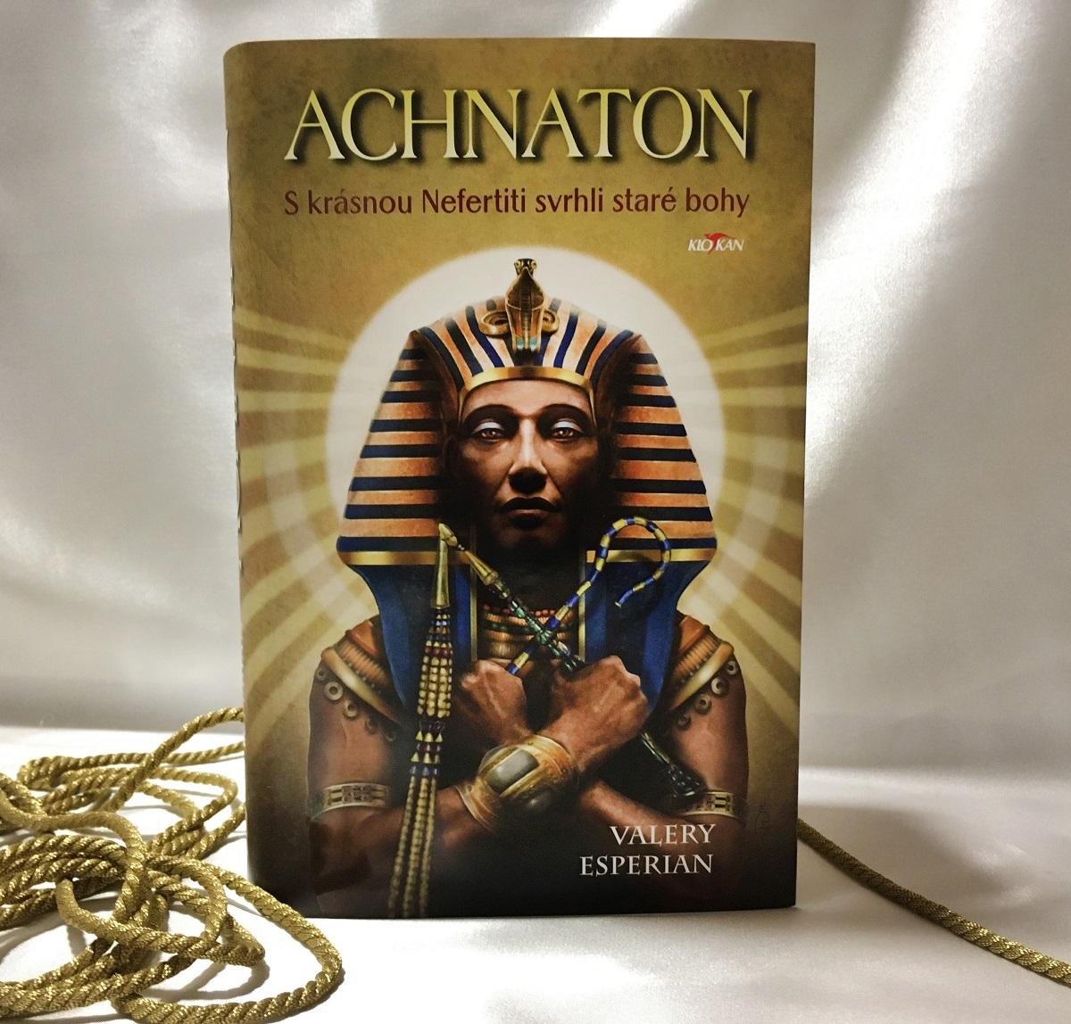 Kniha Achnaton v našem nakladatelství Alpress