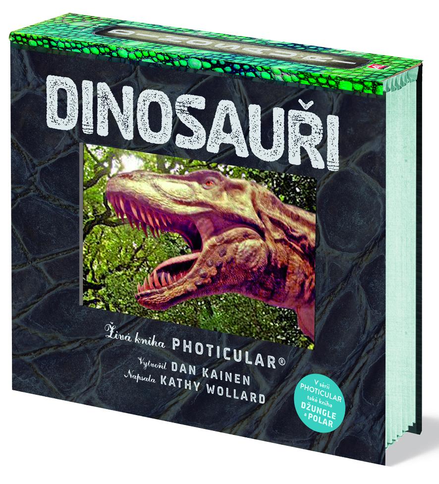 Kniha Dinosauři v našem nakladatelství Alpress